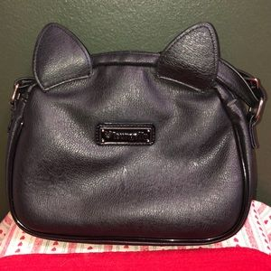 Loungefly Bags - Loungefly Black Cat Faux Leather Crossbody Purse